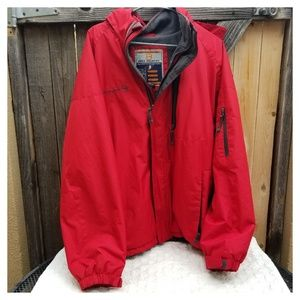 FREE COUNTRY Mountain Extreme Large Red Softshell
